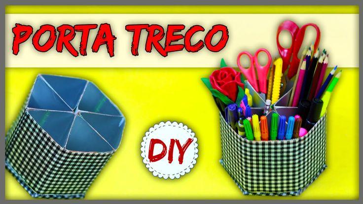 DIY: Organizador Reciclado feito com caixa de Suco/Leite