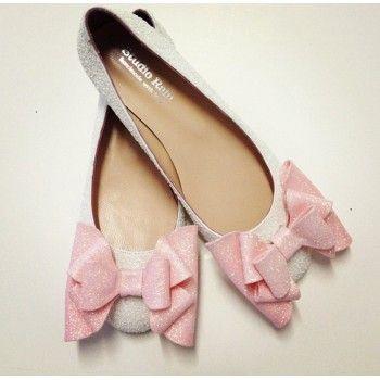 Pembe Düğün Ayakkabıları