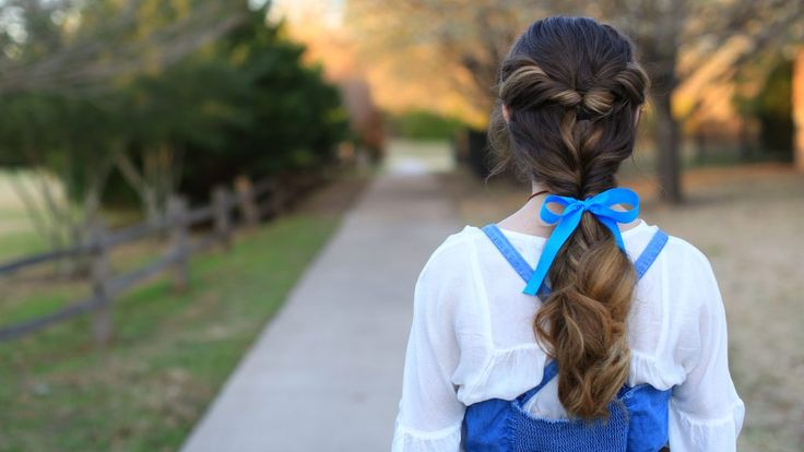 Beauty and the Beast Hairstyle | Cute Girls Hairstyles