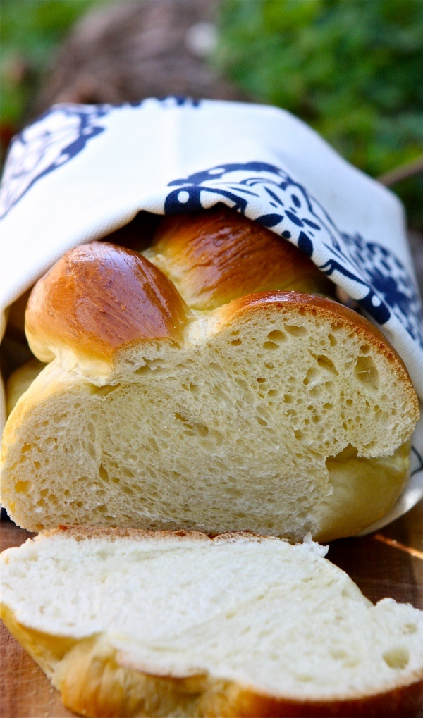 not my challah recipe, but, hey, it's challah (yum)