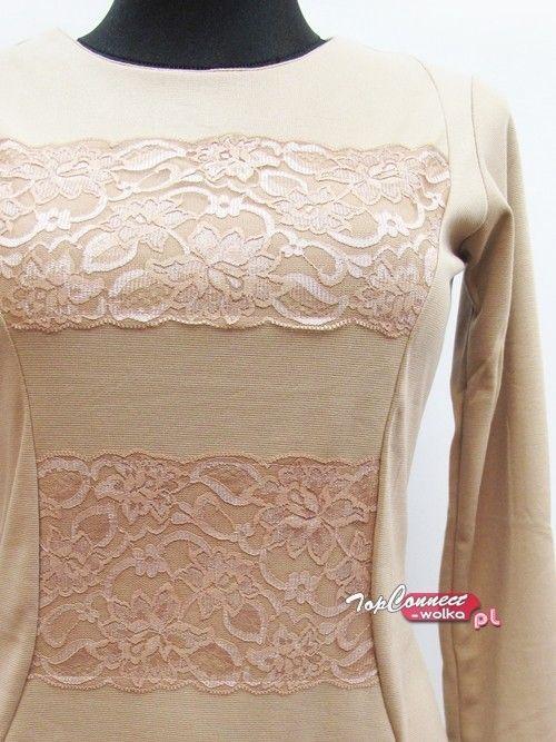 Sukienka damska długi rękaw od http://topconnect-wolka.pl/