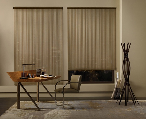 Simple, contemporary and not so boring solar screens. A distinctive window…