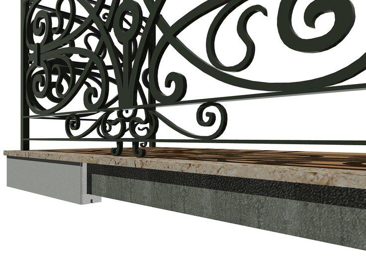 Gocciolatoio in polistirolo espanso (EPS) - Un prodotto pratico ed ideale per la riqualificazione di vecchi edifici e la finitura estetica delle nuove costruzioni. Il Gocciolatoio è un elemento di ripristino che, applicato ai bordi di balconi e terrazzi, garantisce l'isolamento del calcestruzzo dall'acqua.