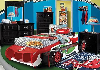 Disney Cars Francesco 6 Pc Bedroom