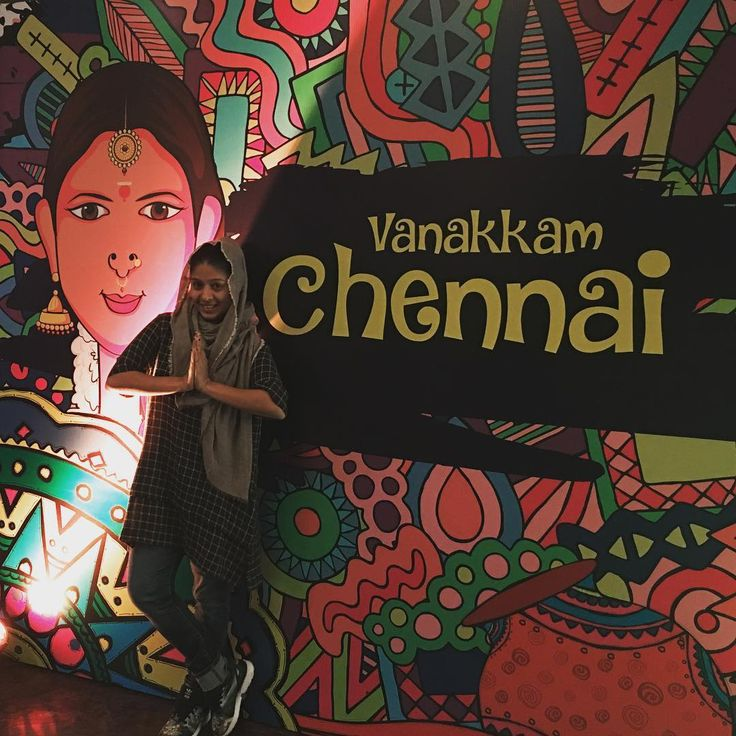 Chennai I'm here!!!