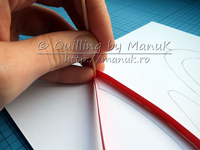 Quillography Tutorial or Paper Graphic - A few tips and tricks which will help you get started using this technique - Quilling by ManuK (Manuela Koosch)