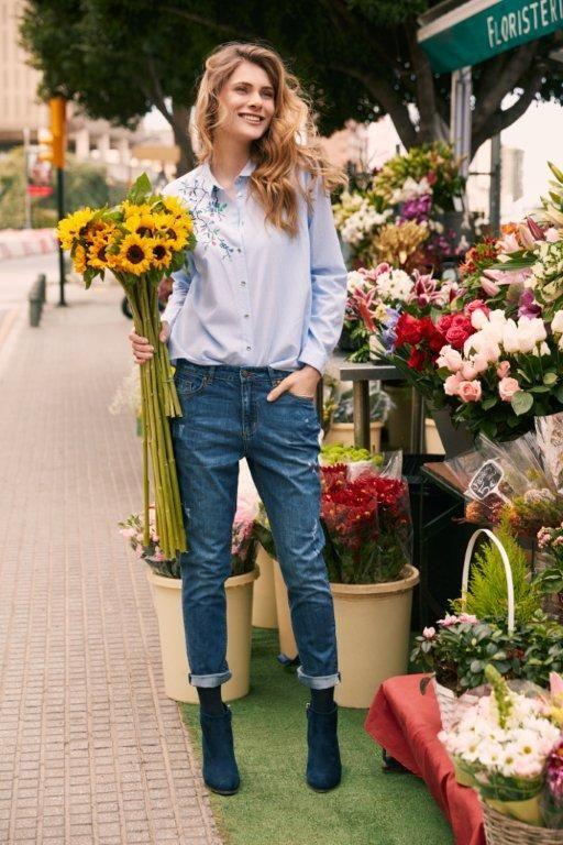 Kampania TOP SECRET wiosna 2017 denim trend, jeansy
