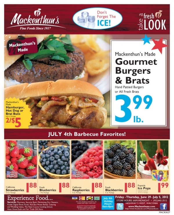menards 4th of july ad