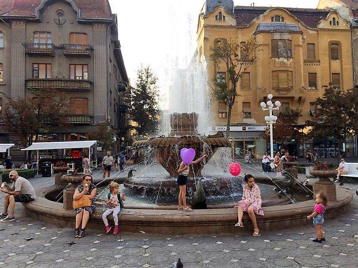 Fountain in the Revolution Square