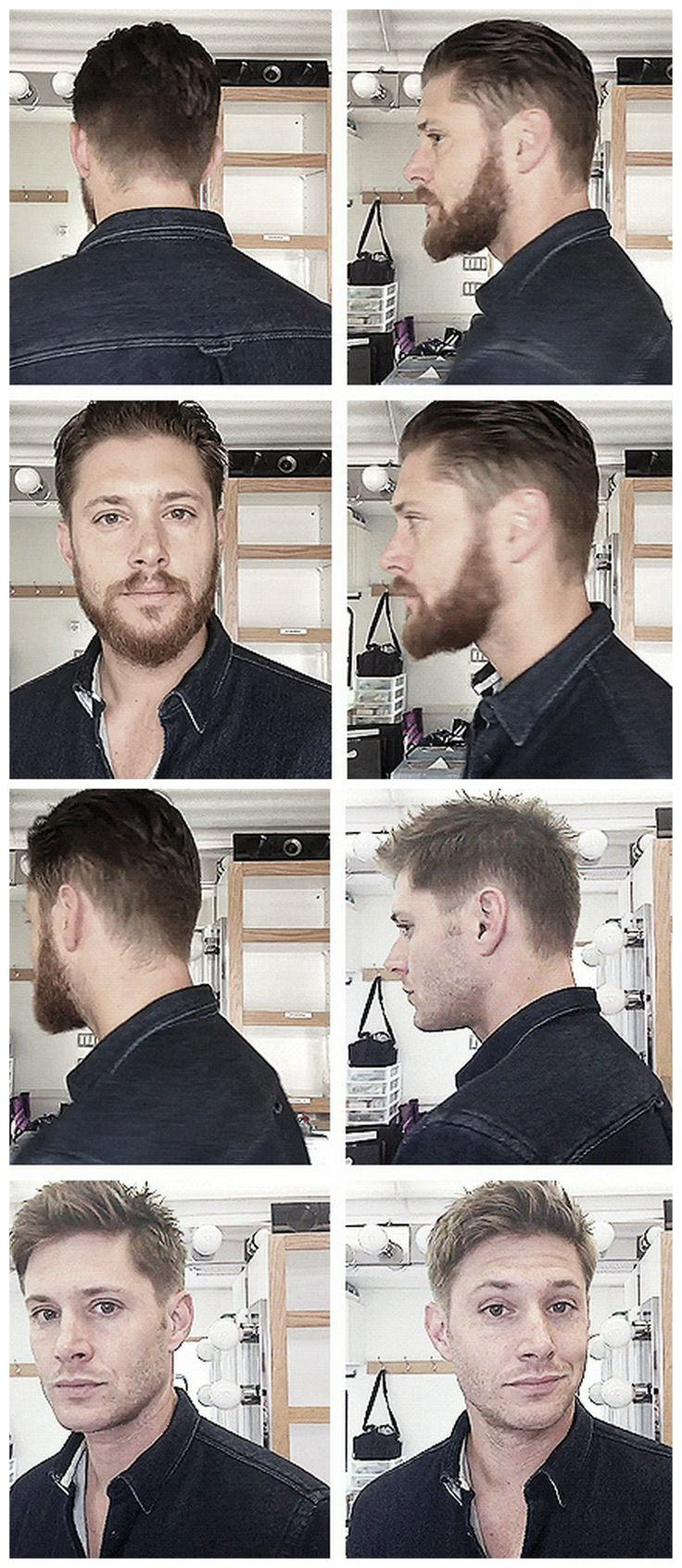 [gifset] So what kind of hiatus beard do you think we'll get his year? #JensenAckles