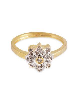gold brass, stone ring - Online Shopping for rings