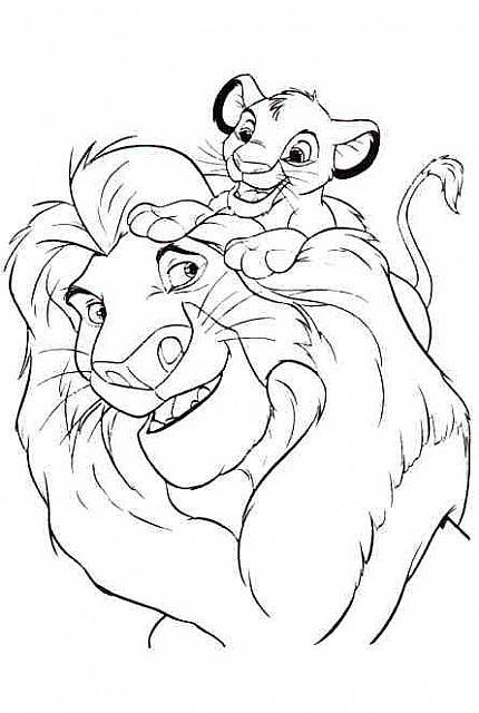 Papa E Figlio Disegni Da Colorare Gratis Colored Pencils Disney