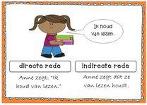 In groep 7 en 8 wordt in de meeste taalmethodes voor het eerst de directe en indirecte rede aangeboden. Lastig om te onthouden en vooral lastig om de twee uit elkaar te houden.
