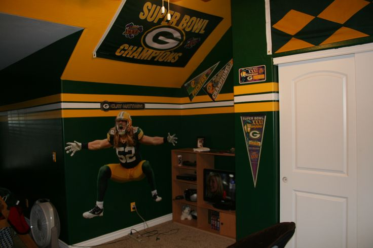 Green Bay Packers Man Cave Decor : Best josh s man cave images on pinterest greenbay