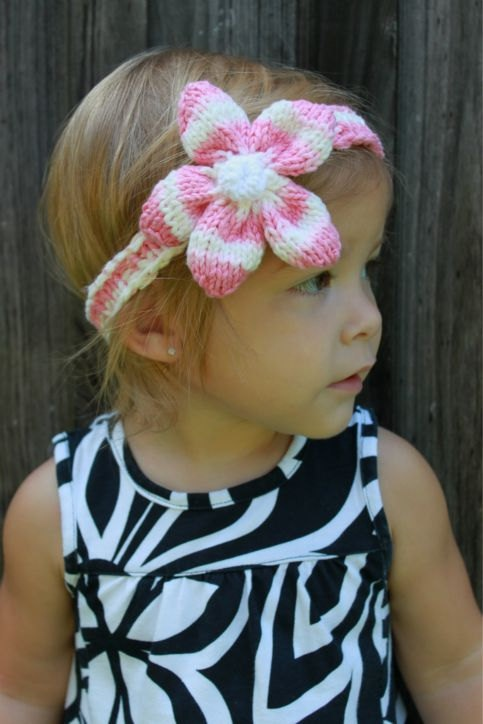 17 Best images about Baby Headbands - Knitting and Crochet Patterns on Pinter...