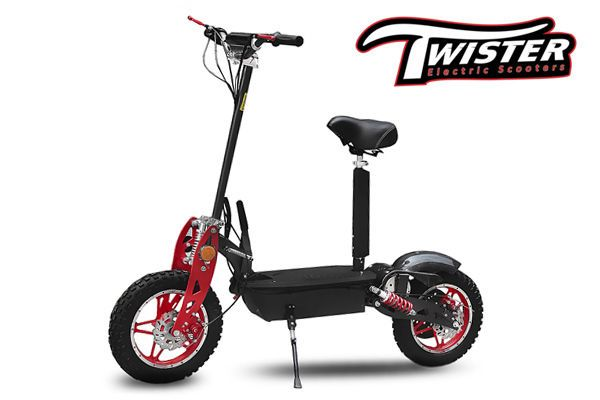 1000w 36v twister 10 offroad e scooter elektroroller. Black Bedroom Furniture Sets. Home Design Ideas