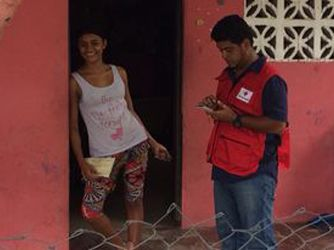 Panamanian Red Cross uses new technology to streamline distribution of humanitarian aid
