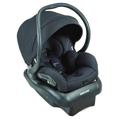 Happy travels are ahead with the Maxi-Cosi Mico 30. The lightest infant car seat* in its class, the ergonomic handle provides extra comfort for parents while carrying this lightweight seat. Transferring from the stay-in-car base to a Maxi-Cosi, Quinny, or other premium stroller is a breeze, making the Mico 30 infant seat a great solution for parents looking for a complete travel system they can use from birth.  The Mico 30's seat features self-wicking fabric that deodorizes and draws li...