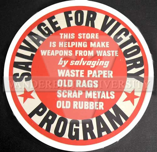 salvage for victory, american? wwII