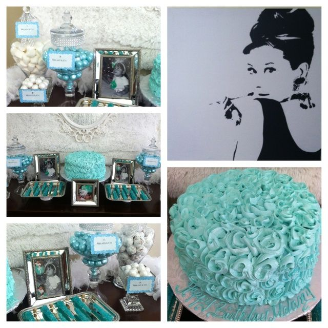 Tiffany Themed Party For Keira S 18th Birthday: 25+ Best Ideas About Tiffany Birthday Party On Pinterest