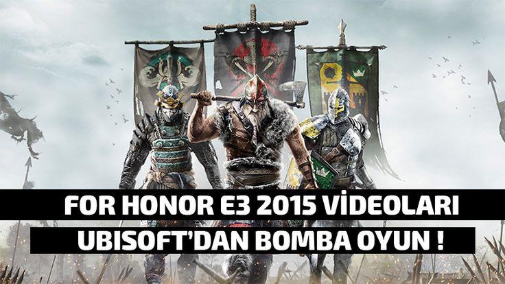 For Honor Orta Çağ Oyunu E3 2015 Videosu