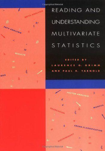 Reading & Understanding Multivariate Statistics by Grimm, http://www.amazon.com/dp/1557982732/ref=cm_sw_r_pi_dp_UBGZqb1H0SNFG