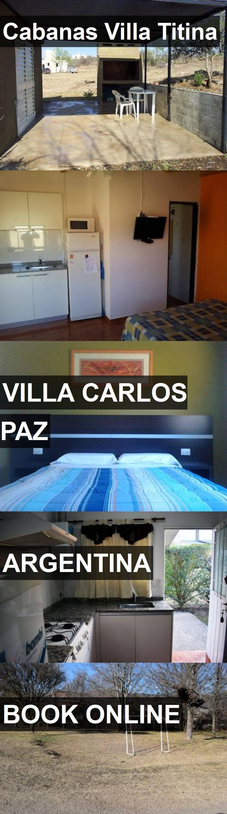Hotel Cabanas Villa Titina in Villa Carlos Paz, Argentina. For more information, photos, reviews and best prices please follow the link. #Argentina #VillaCarlosPaz #CabanasVillaTitina #hotel #travel #vacation