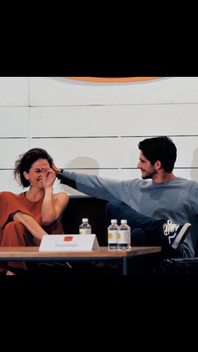 Shelley Hennig & Tyler Posey • Teen Wolf Cast