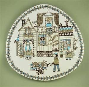 Figgjo Flint Turi design plate