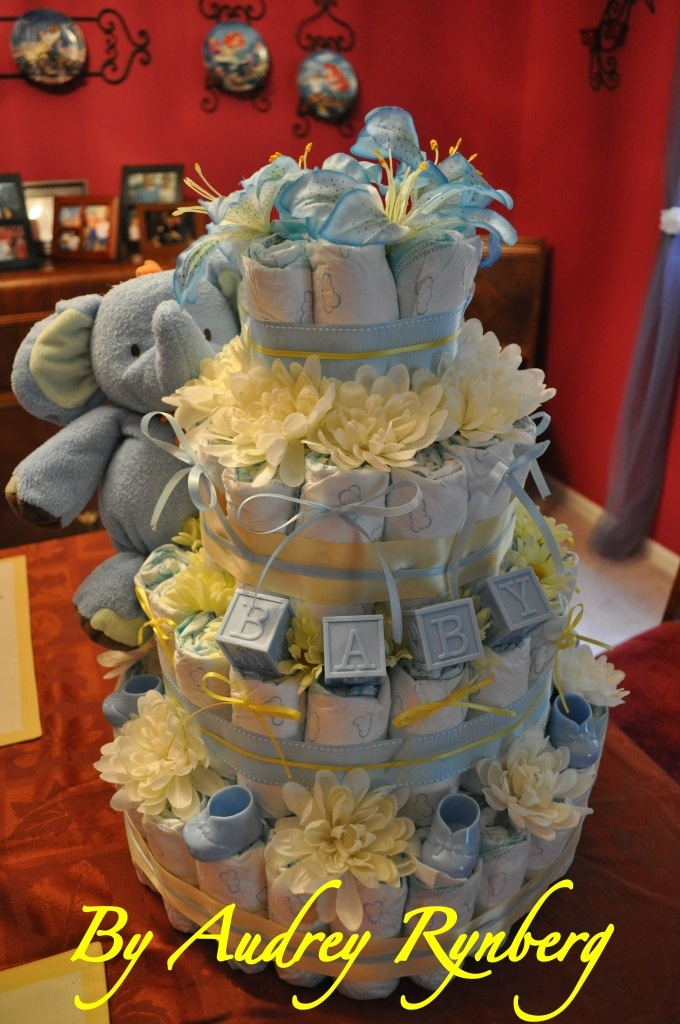 314 Best Diaper Cakes Diaper Gifts Images On Pinterest Airplane