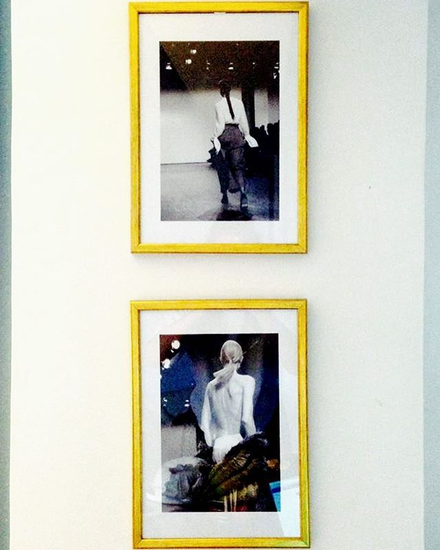 Framed #aw16 memory on @cosmicaudrey 's wall✖️Ioana #ioanaciolacu #ioanacasapu