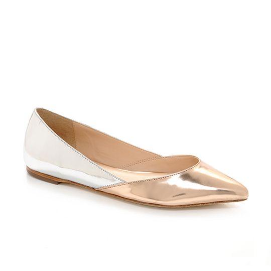 Rose Gold Flat Sandals   Gold Flat Sandals