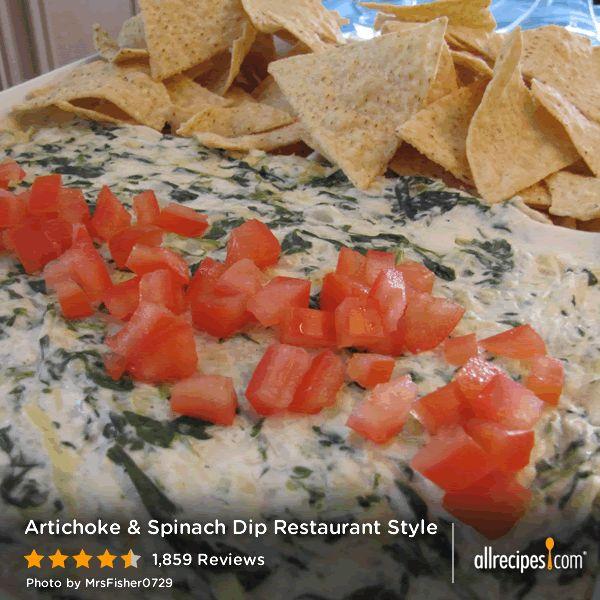sauce white cheese dips lasagna dip artichokes artichoke dip recipes ...