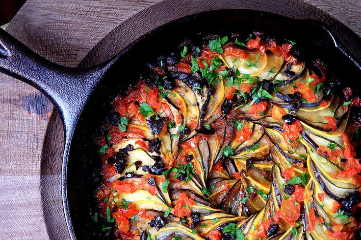 Olives for Dinner | Vegan Recipes and Photography: Ratatouille (Confit Byaldi)