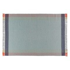 BORDERS Medium pastel wool rug 140 x 200cm