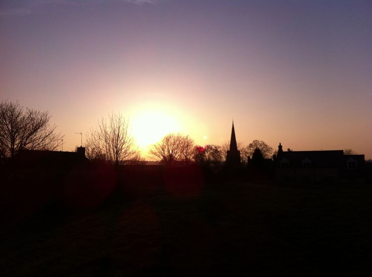 Sunshine in Geddington