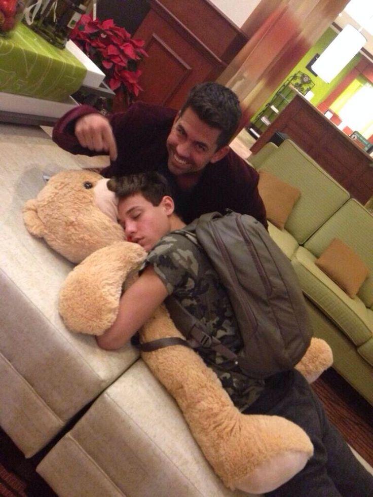 Best Boys Images On Pinterest Magcon Boys Best Friends - Guys best friend bear cutest bromance ever