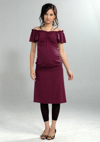Women`s Lauren Kiyomi Flutter Sleeve Dress (Maternity) - More Colors Available $96.00