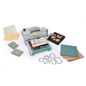 Sizzix - Set de máquina troqueladora y accesorios, color azul: Amazon.es: Hogar 101,75€