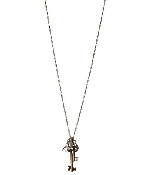 Key Charm necklace at Bootlegger