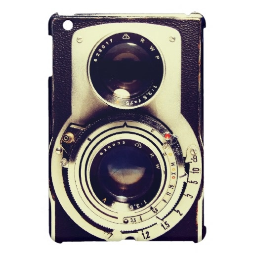 Vintage Camera Cover For The iPad Mini from Zazzle.com want it!