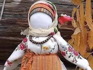"Кукла ""Рябинка"". Мастер-класс - Ярмарка Мастеров - ручная работа, handmade"
