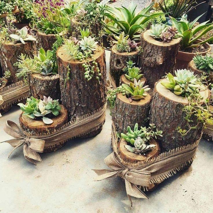 Cool 40 étonnantes idées de décoration de jardin succulentes. Plus sur homishome.com