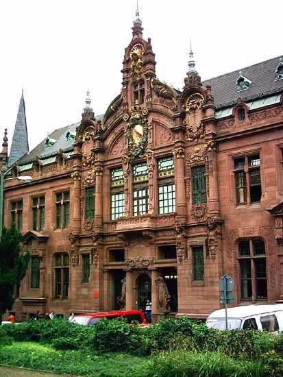 University Library - Heidelberg, Germany
