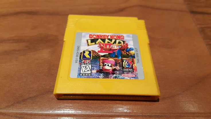Donkey kong land III, Donkey Kong land 3 Nintendo gameboy video game,  Donkey Kong, Donkey Kong land 3, gameboy color game - pinned by pin4etsy.com