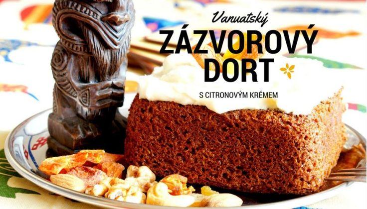 zázvorový dort