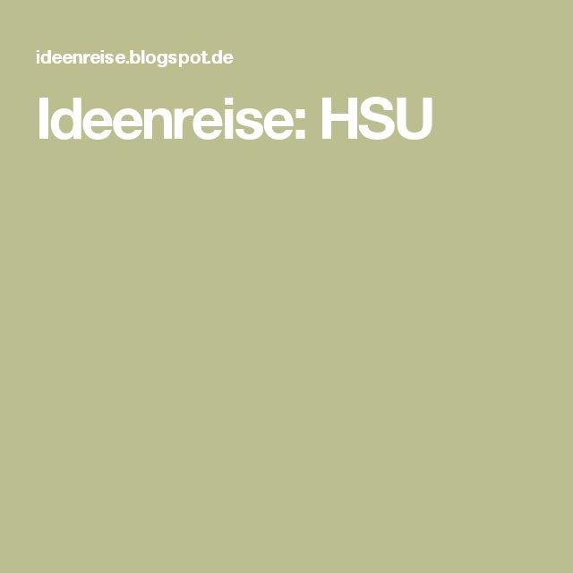 Ideenreise: HSU