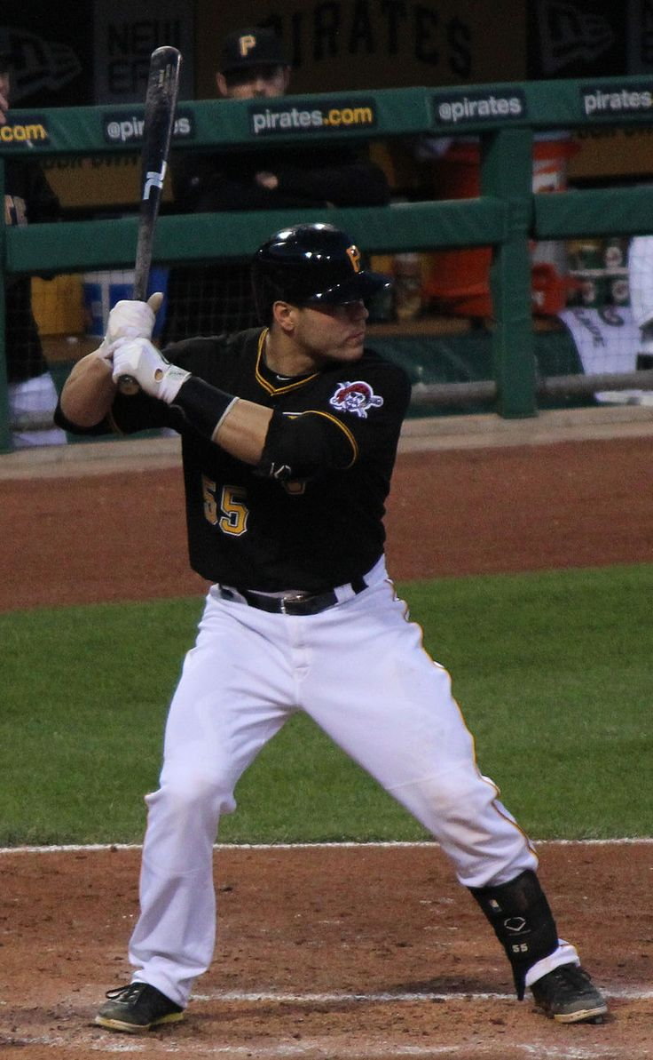 Russell Martin from Toronto has been a major league star behind the plate for the Dodgers and the Yankees, two of the oldest and most storied franchises in Major League Ball.  Currently with the Pirates, Martin continues to call a cool game and contribute at the plate too, a real team leader.
