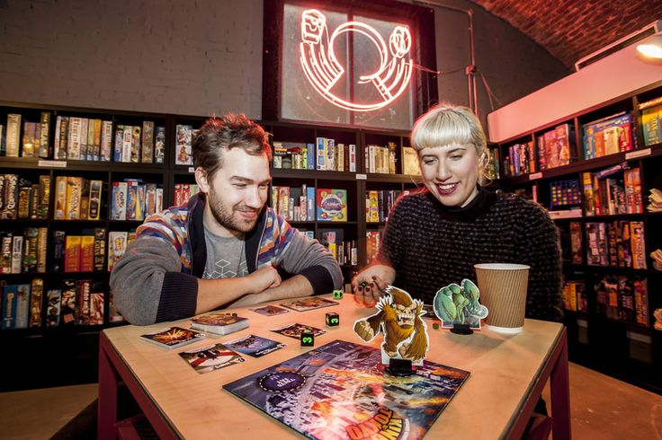 Board games cafe @ Hackney; Draughts; £5 and you can stay as long as you want! Yay!!