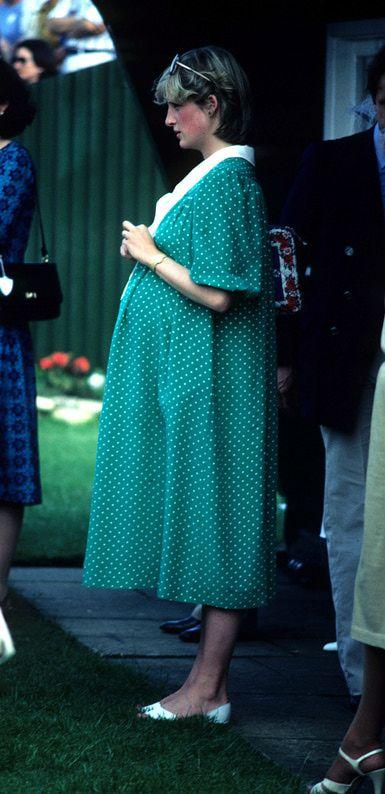 Maternity Style, Princess Diana, June 1982